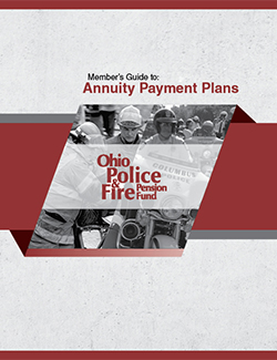 Members' Guide to Annuity Payment Plans